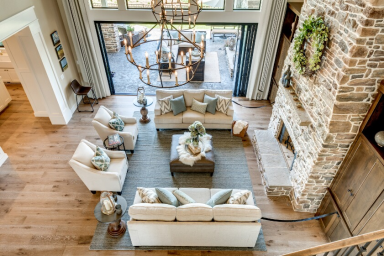 10 Ideas for Large Living Rooms