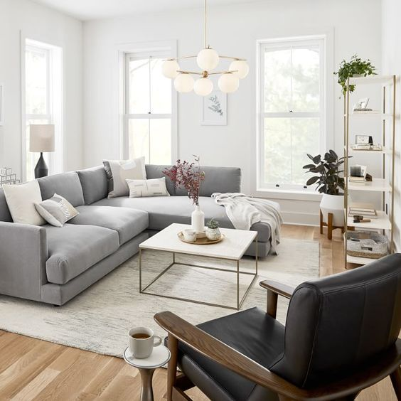 12 Brilliant Ideas to Spruce Up Your Gray Couch