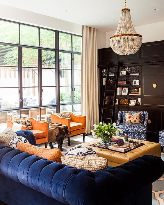 15 Blue Couch Living Room Ideas: Make Your Living Space True Blue Swoon-Worthy