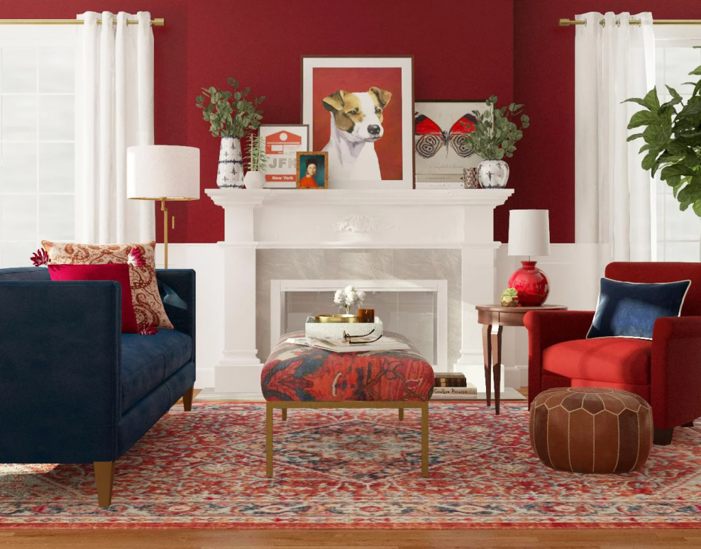 9 Red Living Room Ideas Storynorth, Red Living Room Ideas