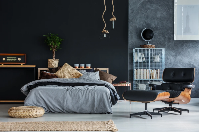 11 Black Bedroom Ideas Exhibiting Sophistication
