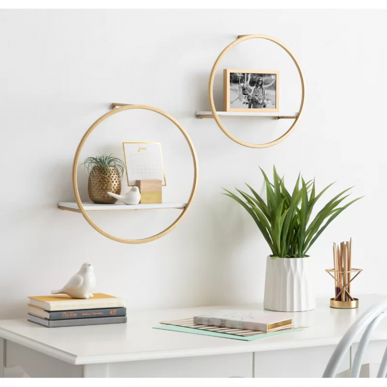 16 Bedroom Shelf Ideas to  Add Flavor to Your Walls